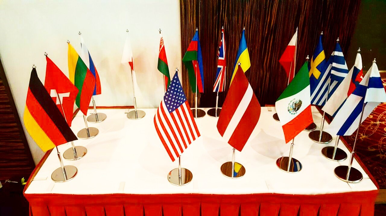 Countries participating